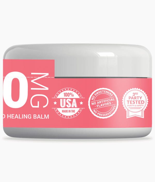 xanadu 500mg full-spectrum healing balm - badges