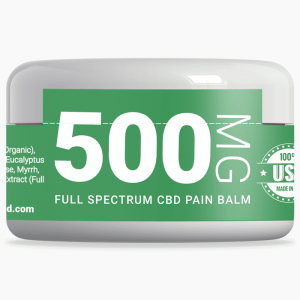 xanadu 500mg full-spectrum pain balm front label